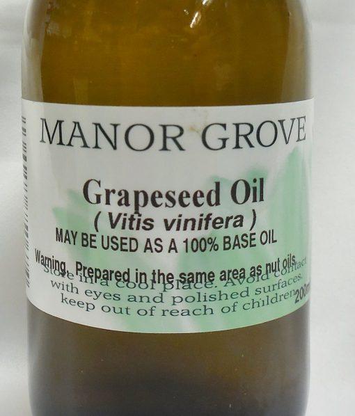 200ml Grapeseed base oil