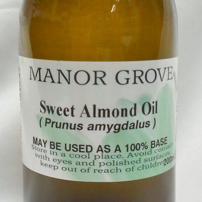 200ml sweet almond base oil