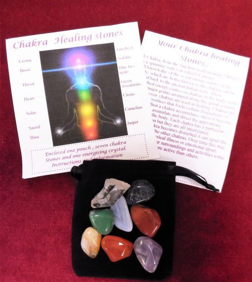 Chakra healing pack