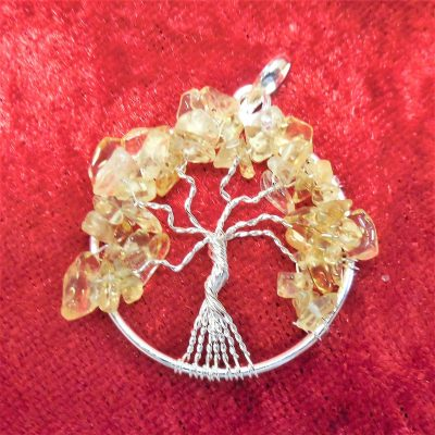 Citrine tree of life
