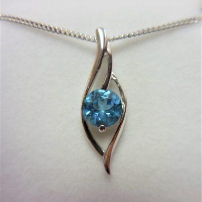 Blue topaz jewellery