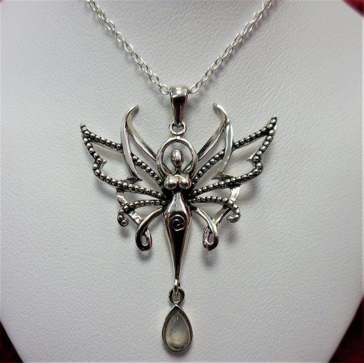 Gaia fairy pendant