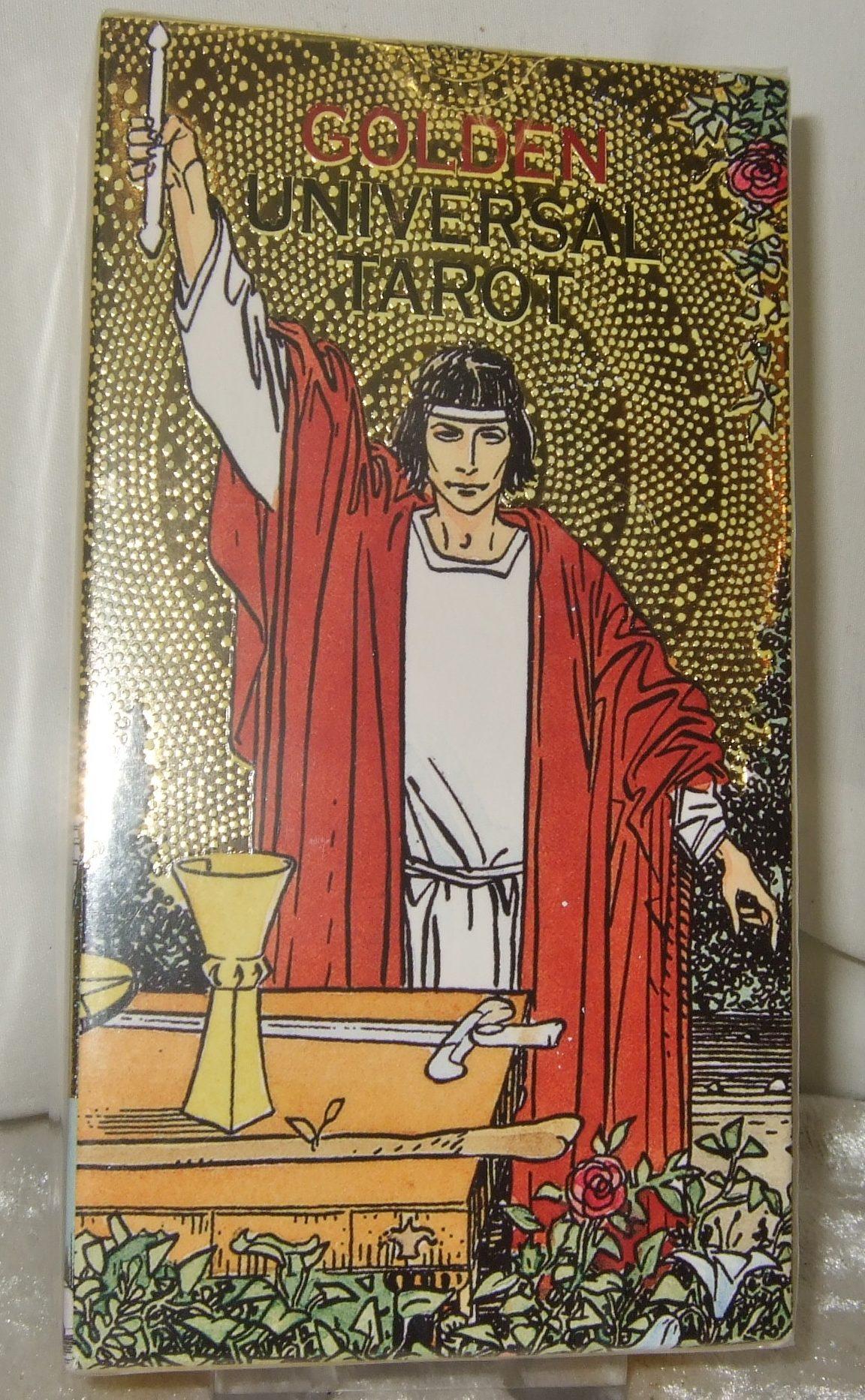 Golden Universal Tarot Cards