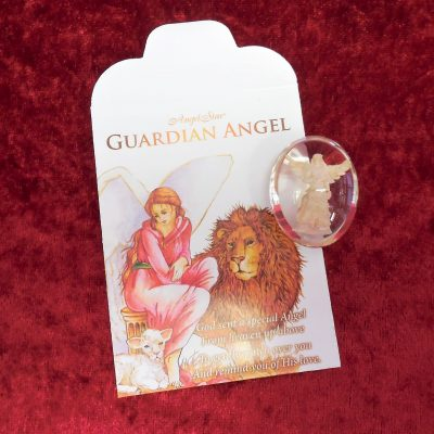Guardian angel worry stone