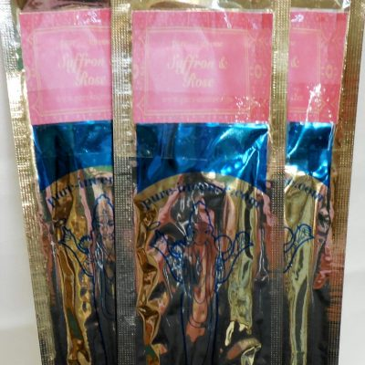 Saffron and Rose Incense