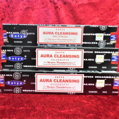 Satya Aura cleansing Incense