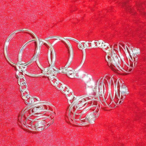 Spiral keyrings