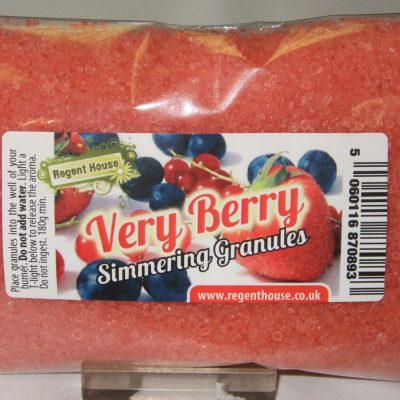 Very Berry granules