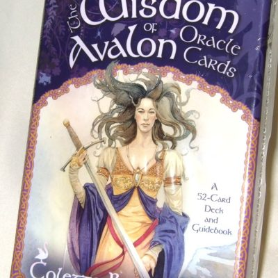 Wisdom of Avalon oracle cards.