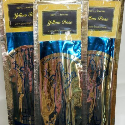 Yellow rose incense