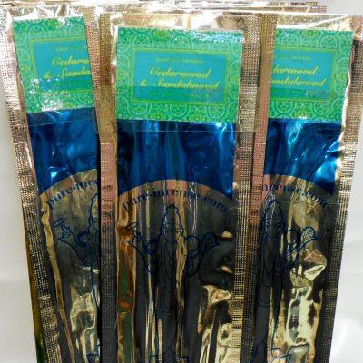Cedarwood and Sandalwood Incense